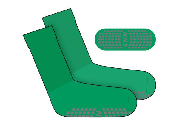 Step Sock Green